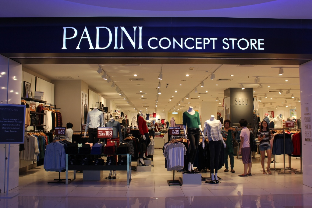 leadership of padini concept store